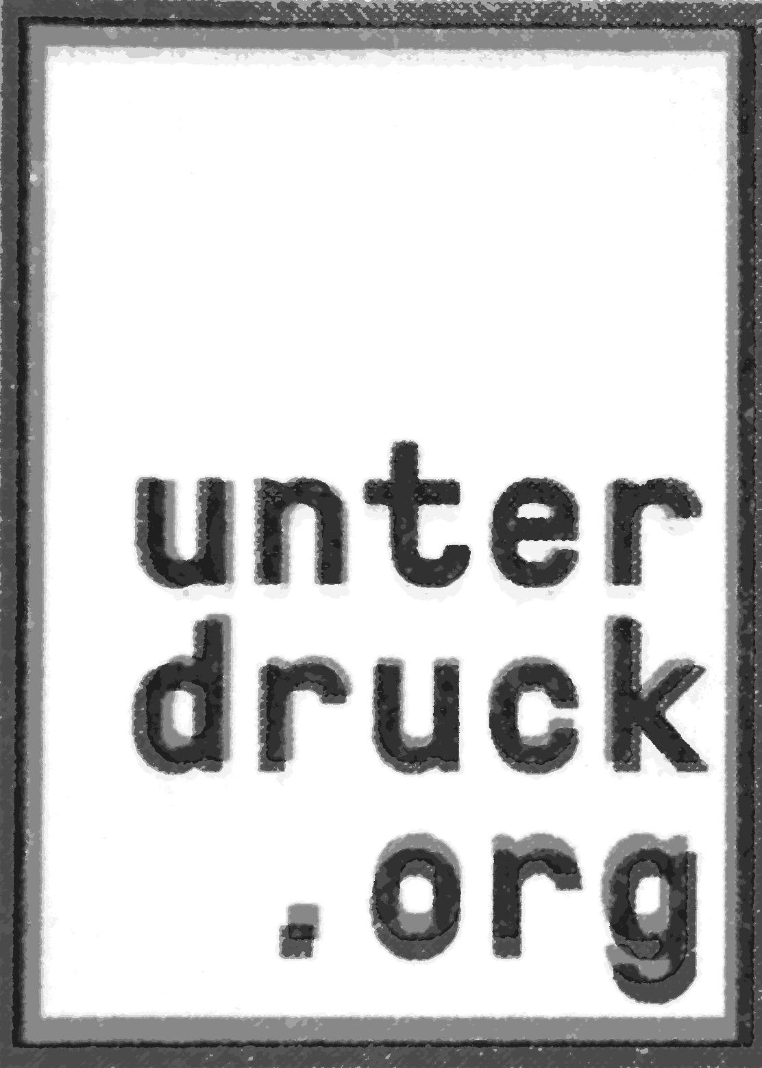UNTERDRUCK